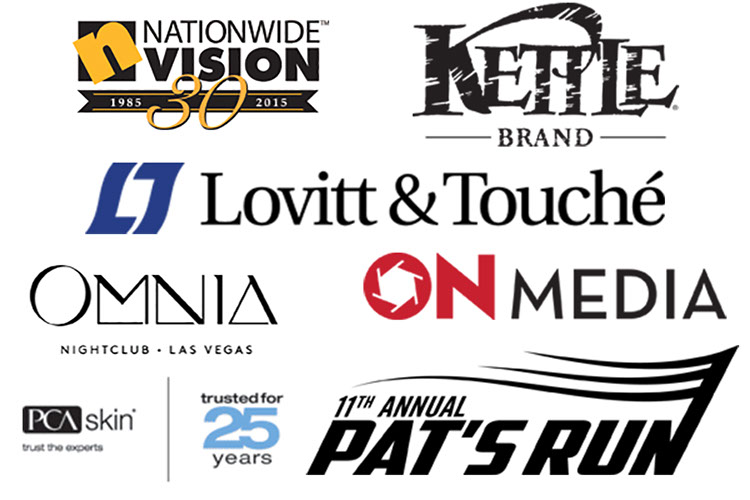 Nationwide Vision, Kettle Brand, Lovitt&Touche, Omnia, OnMedia, PCA Skin, and Pat's Run